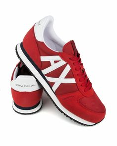 Fashionable Sneakers 4 U Armani Exchange Shoes, Men's Shoes, Shoes Sneakers, Exclusive Shoes, Sneakers For Sale, Online Shopping Clothes, Emporio Armani, Sneakers Fashion, Adidas Sneakers