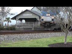 Train Chasers At Work, Southbound Amtrak, Moncks Corner, S C - YouTube