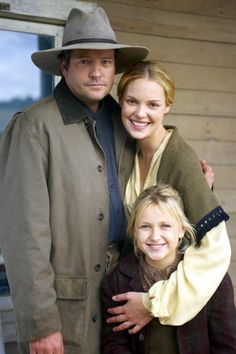 Love Comes Softly. my sisters and I watch these when we want to laugh all night and do a running commentary - but we love them :)
