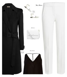 """Minimal+ modest + Classic"" by s-thinks ❤ liked on Polyvore featuring MaxMara, Bottega Veneta, River Island, Tory Burch and Senso"
