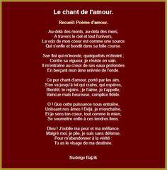 Le chant de l'amour French Love Poems, Chant, Positivity, Passion, Attitude, Geek, English, Random, Outfits