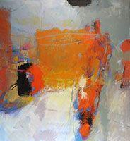 Coda / acrylic / 52 x 48 in. / Tony Saladino