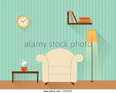 http://l7.alamy.com/zooms/9cd5642a1afc4936904c63020798f2b6/illustration-of-the-living-room-with-white-armchair-flat-design-style-f5ycye.jpg