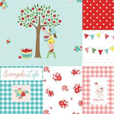 The Simple Life - lovely new fabric coming out in summer