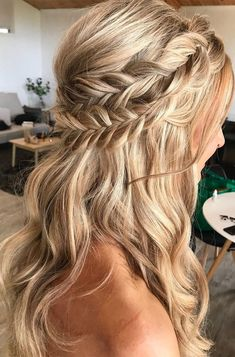 Bridal Hairstyles With Braids, Fishtail Hairstyles, Bohemian Hairstyles, Wedding Hairstyles For Long Hair, Bride Hairstyles, Hairstyles For A Party, Bridal Hair Braids, Hairstyles For Dances, Hairstyles For Weddings Bridesmaid