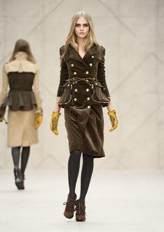 Burberry Prorsum Womenswear Autumn/Winter 2012 Show #LFW