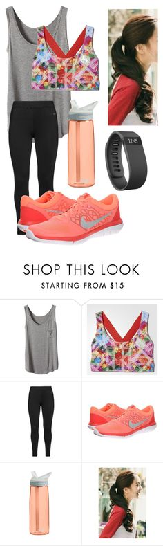 """""""Untitled #122"""" by hannah-faith1 ❤ liked on Polyvore featuring мода, adidas, Studio, NIKE, CamelBak, Marlangrouge и Fitbit"""