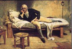 """""""Miranda en La Carraca"""" lienzo pintado por Arturo Michelena en 1896.  Este cuadro es impresionante! Verlo en persona es mágico!"""