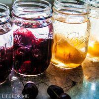 大きめの瓶を調達して自家製果実酒を作ろう♪