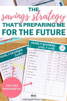 The Savings Strategy That's Preparing Me for the Future Do you want to create a savings plan that actually works? Here is the exact system that keeps me out of debt and allows me to save cash for the future! - The Budget Mom Savings Planner, Budget Planner, Planner Ideas, Money Saving Challenge, Money Saving Tips, Saving Ideas, Money Tips, Budgeting Finances, Budgeting Tips