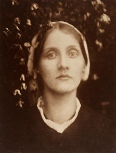 "artist...Julia Margaret Cameron  ""A Beautiful Vision"" 1872  of Julia Duckworth"