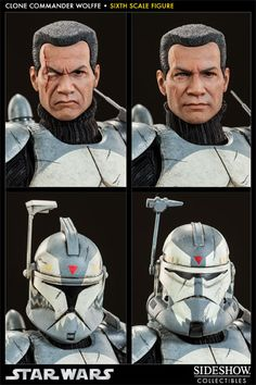 Sideshow Collectibles Clone Commander Wolffe Available for Pre-Order - More Than Just Reviews