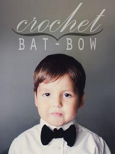 Crochet: Bat-bow!