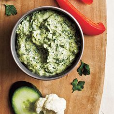 Zesty Green Goddess Dip - Top-Rated Party Appetizers - Cooking Light