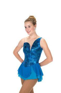 Jerry's Figure Skating Dress 252 - Aurellia (Ocean Blue)