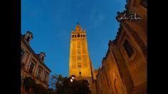 Atardecer a los pies de la Giralda. Sevilla, 23 Abril 2016. Timelapse realizado con una SJCAM sj4000.