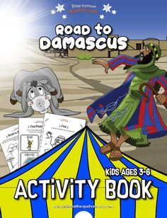 Paul's Shipwreck Activity Book: Beginners – Bible Pathway Adventures Bible Activities, Hands On Activities, Kindergarten Activities, Activity Books, Activity Sheets, School Lessons, Lessons For Kids, Sabbath School Lesson, Adventure Bible
