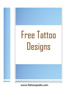 Tattoo Designs Pdf 1