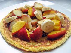 Feel Eat!: Amarantusowy omlet z owocami