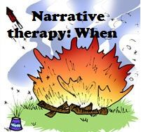"BLOG. 4/6 of a series of posts about narrative therapy. This one focuses on the ""when"" or time of stories."