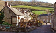 The beautiful Devon village of Branscombe, England   by gazzat #seedevon #nationaltrust
