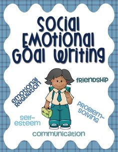 Social and emotional skills goals can be difficult – we're not measuring words per minute or math facts. Human behavior is more subjective than many other skills students learn in school. However, it is possible to write great social emotional goals for students.  This guide contains the following: - 5 tips to help you write more measurable, observable goals to help your students - descriptions of the 2 social-emotional goal types - examples to save you time and sanity!