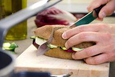 Sandwich con zucchine grigliate e scamorza