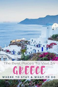 Planning a trip to Greece? Be sure to put the Seaside villages of Skyros the golden sandy beaches of Halkidiki and the cobbled streets of Athens on your list. Weve got the best places to stay and the ultimate spots to visit for your next vacation! Backpacking Europe, Europe Travel Tips, Travel Destinations, Travel Guides, Travel Advice, Greece Itinerary, Greece Travel, Greece Trip, European Destination