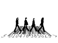 The Beatles Abbey Road Barcode By Richard Wheeler
