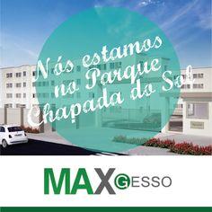 A Max Gesso tem orgulho de estar ingressada na Chapada do Sol, em Várzea Grande. Use nosso Gesso você também! Veja: http://www.mrv.com.br/imoveis/apartamentos/matogrosso/varzeagrande/jardimaeroporto/parquechapadadosol