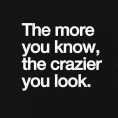 Crazy knowledge