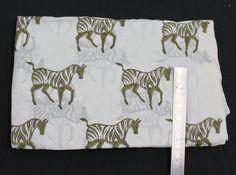 indian hand block print fabric Jaipuri Bagru print fabric Zebra Design Print Fabric White Background Fabric Hand Printed Fabric by BLOCKPRINTFABRIC on Etsy