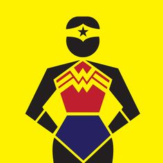 Wonderwoman pictogram