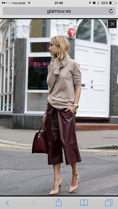 Glamour Summer trousers