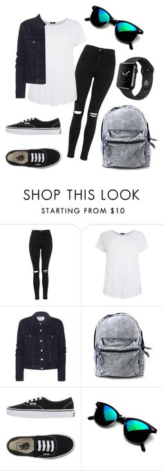 """My fav outfit ❤️"" by eemaj ❤ liked on Polyvore featuring Topshop, Acne Studios and Vans"