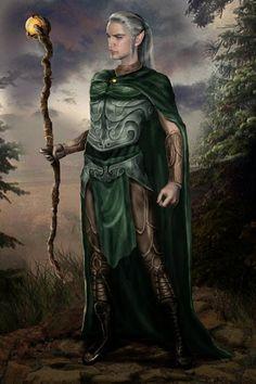 1534 Best Fantasy - Elves, Fae, etc images in 2020 Fantasy Wizard, Elves Fantasy, Fantasy Male, Fantasy Rpg, Medieval Fantasy, Tolkien, Elf Characters, Fantasy Characters, Fantasy Figures