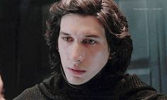 He looks sooo different as Kylo!
