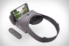 Designed to work with the Pixel and other upcoming compatible phones, the Google Daydream View VR Headset is their first take on virtual reality. Unlike most competing headsets made from hard plastic, the View is primarily crafted from a lightweight,...