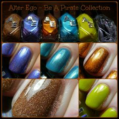 Alter Ego: Be a Pirate Collection - Swatches and Review | Pointless Cafe