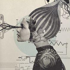 Sato Masahiro , más conocida como Q-TA (@ qta3) es una directora de arte y artista del collage japonesa con sede en Tokyo. Ella domin...