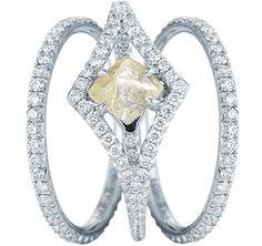 loving this rough diamond by DiamondsInTheRough
