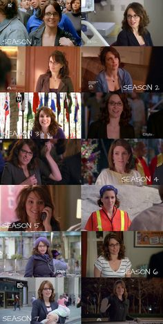 30 Rock: Liz Lemon season 1-7, she's one of the most iconic sitcom characters of this decade!