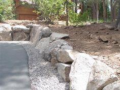 boulder retaining wall | Boulder retaining wall 4 Custom