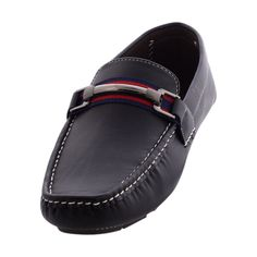 Rocawear - Men's Driving Buckle Driving Shoes - Black