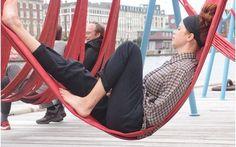 Take a load off - Copenhagen's free street  hammocks