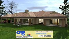 House Plan No W2275 Tuscan House Plans, New House Plans, House Plans South Africa, Home Renovation, Bungalow, My House, New Homes, Floor Plans, Farmhouse