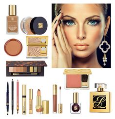 """""""Bronze Makeup by Estee Lauder"""" by dezaval ❤ liked on Polyvore featuring beauty and Estée Lauder"""