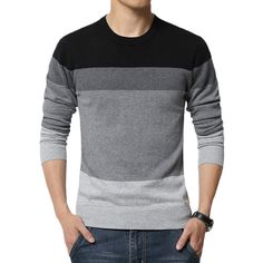 Gender: Men Wool: Standard Wool Collar: O-Neck Sleeve Length: Full Decoration: Spliced Pattern Type: Patchwork Sleeve Style: Regular Material: Cotton, Polyester Item Type: Pullovers Thickness: Standar
