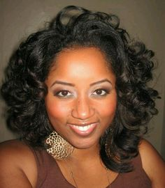 Them curls are everything nails and hair pinterest short love this roller set on natural hair pmusecretfo Images