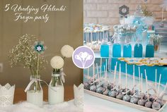 Frozen Birthday Party Ideas | Photo 1 of 12 | Catch My Party